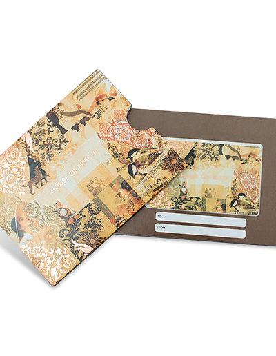 prague gift card carrier
