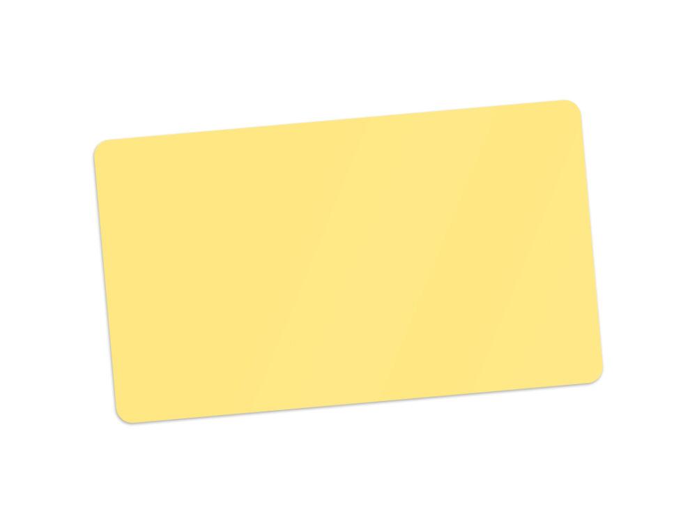 Edikio yellow PVC card for price signs