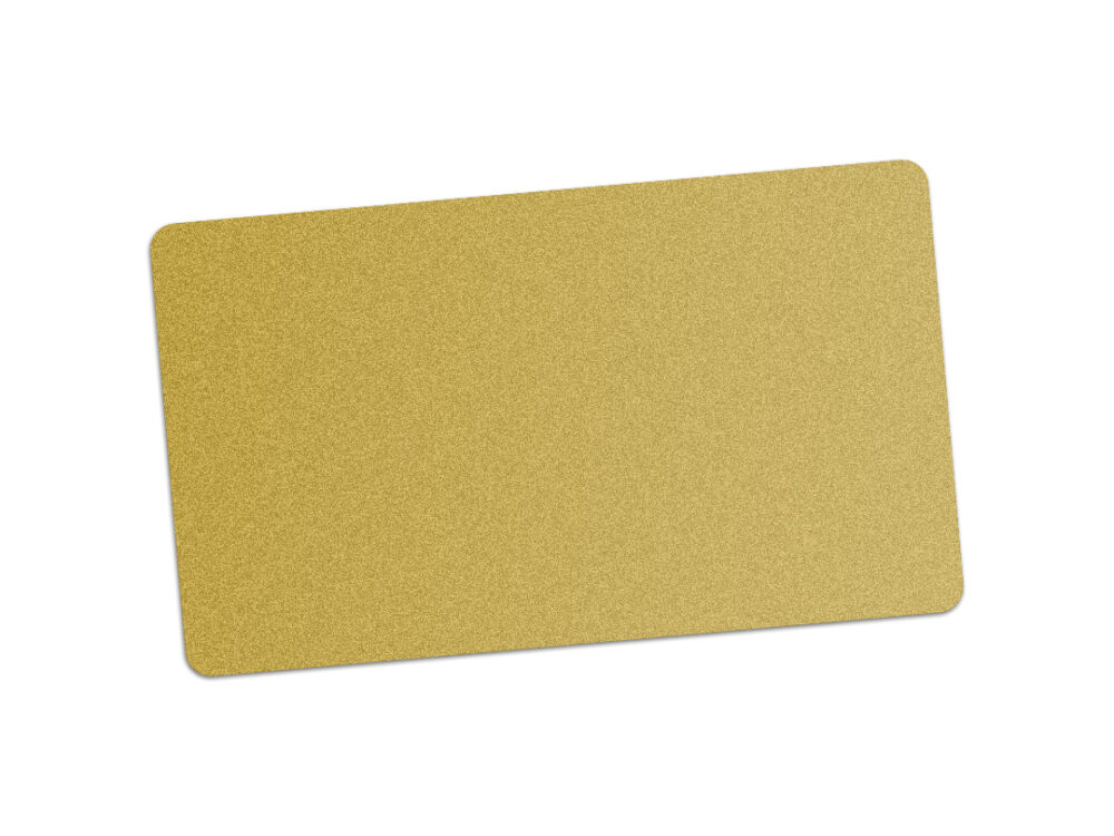 Edikio gold PVC card for price signs