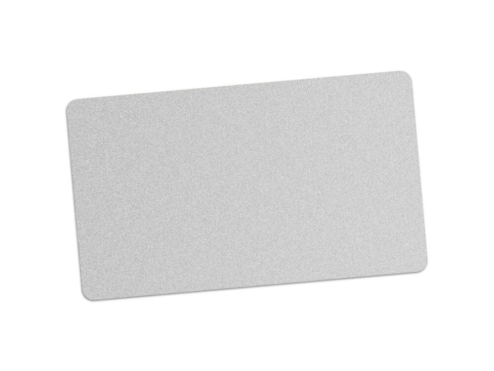 Edikio silver PVC card for price signs